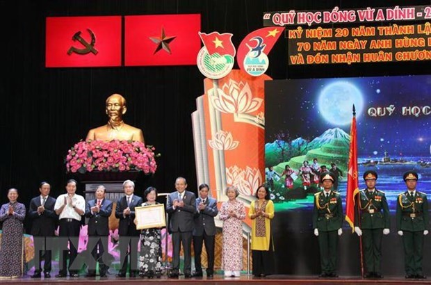 Scholarship fund for ethnic minority children honoured