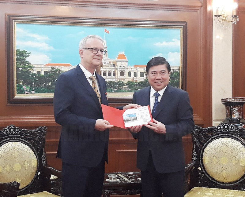Ho Chi Minh city to boost cooperation with German localities