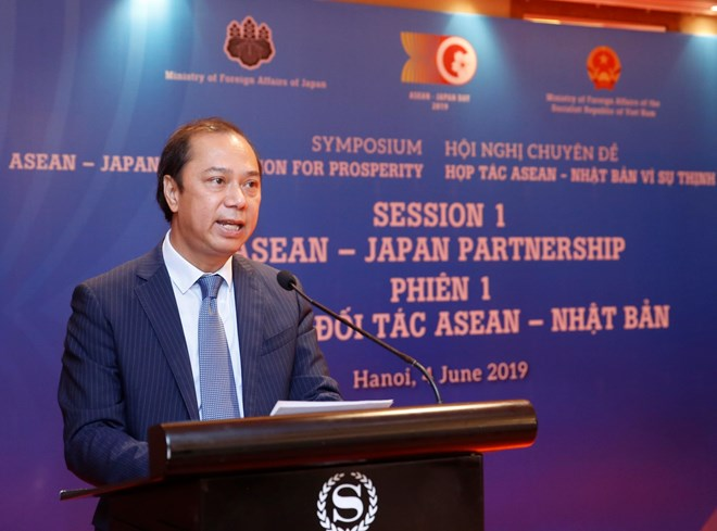 ASEAN, Japan are close, important partners of each other: official