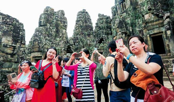 Chinese visitors to Cambodia up 37 percent in four months