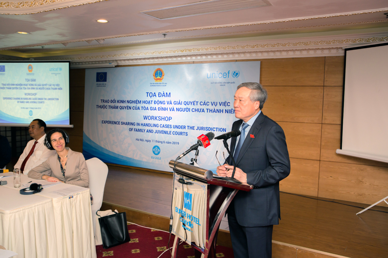 Viet Nam is committed to improve justice for minors