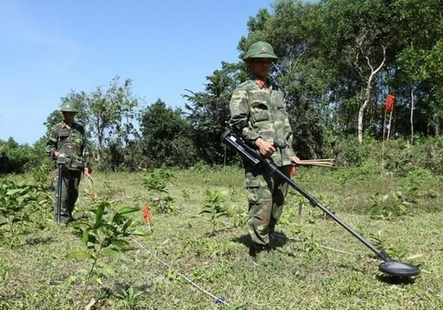 Quang Tri strives to be safe from UXO by 2025