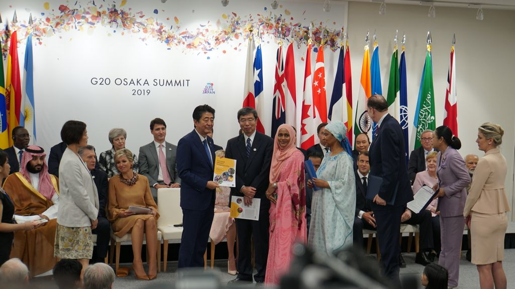 ADB President presents reports We-Fi financed project at Osaka G20 Summit