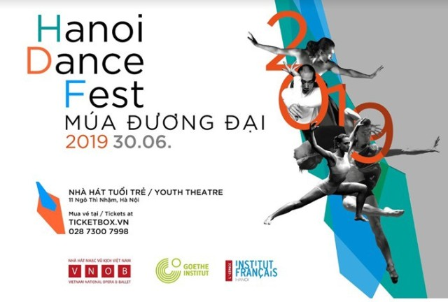 Hanoi Dance Festival 2019 to take place in late June