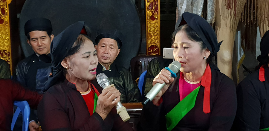 Quan ho and Ca Tru singing festival in Bac Giang province