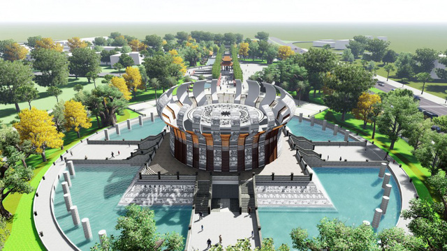 Construction of temple dedicated to Hung Kings in Can Tho starts