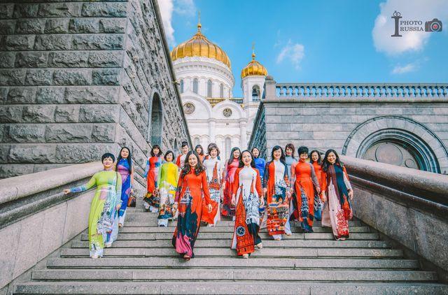 Ao Dai performance at Kremlin Palace