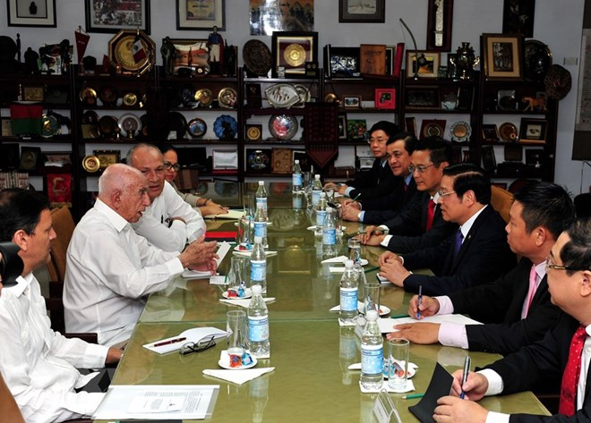Vietnamese Party delegation pay working visit to Cuba