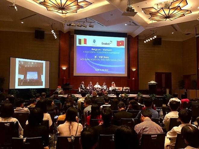 Vietnam, Belgium review four-decade cooperation