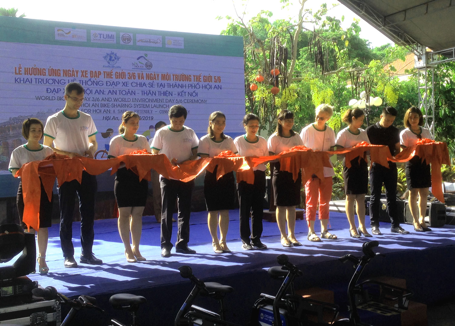 Hoi An city: Bicycle sharing scheme hits the road