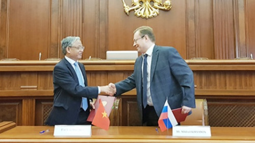 Number of Vietnamese laborers to Russia to be increased