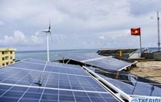 Impressive solar energy system on Spratly islands