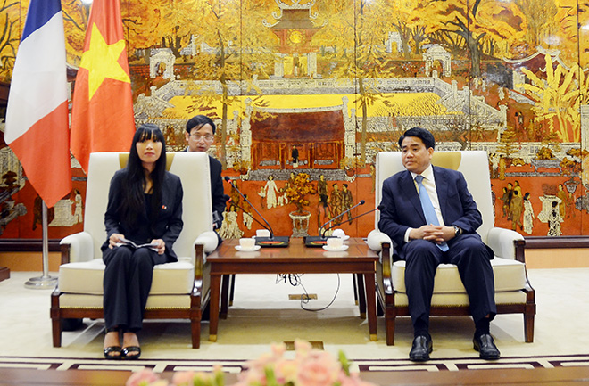Hanoi hopes to be model in Vietnamese and French localities cooperation