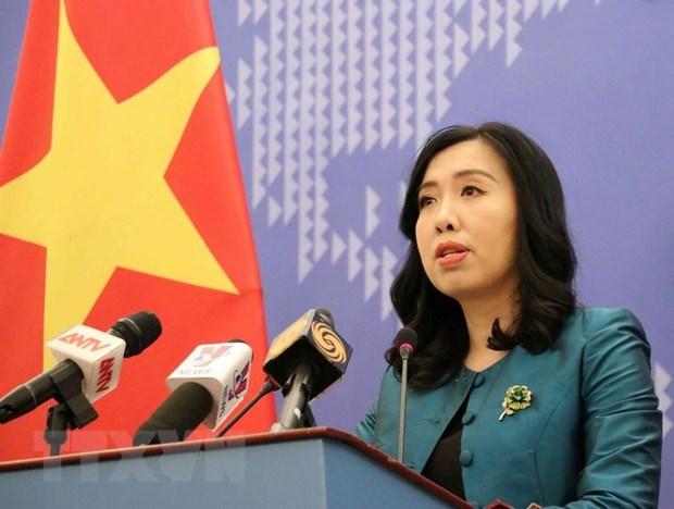 Vietnam resolved to fight violations of its sea areas: spokeswoman