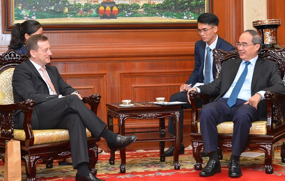 Ho Chi Minh city gives best support for French projects