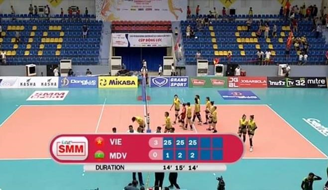 Vietnam's women team top Group A at U23 volleyball tournament