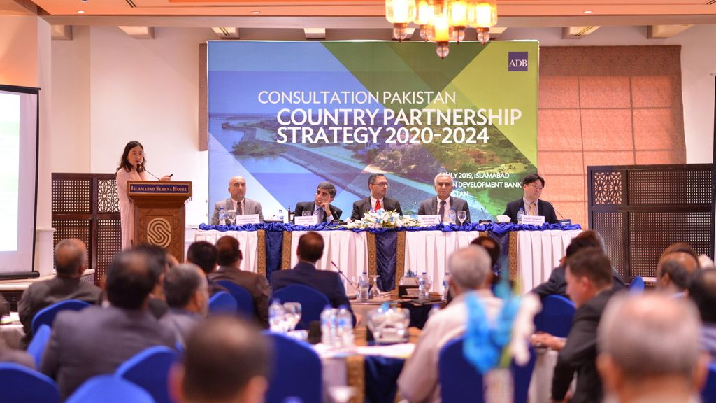 ADB and Pakistan formulate a new Country Partnership Strategy