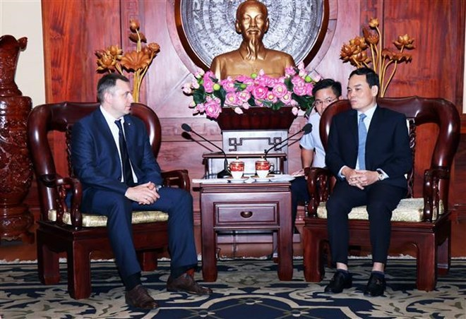 Ho Chi Minh City wants to boost ties with Russian localities