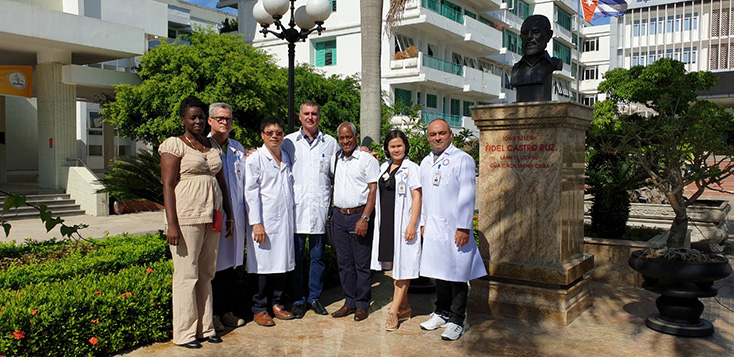 Quang Binh welcomed two more Cuban medical experts