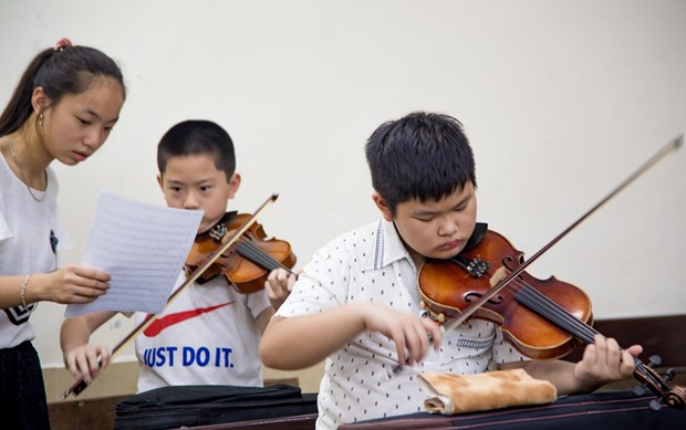 Junior Maius Orchestra to perform in Vietnam for charity fundraising