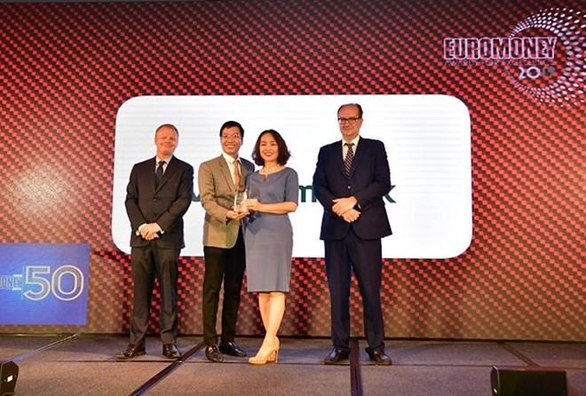 Vietcombank named best bank of Vietnam by Euromoney