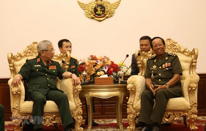 Vietnam, Cambodia look to deepen defence cooperation