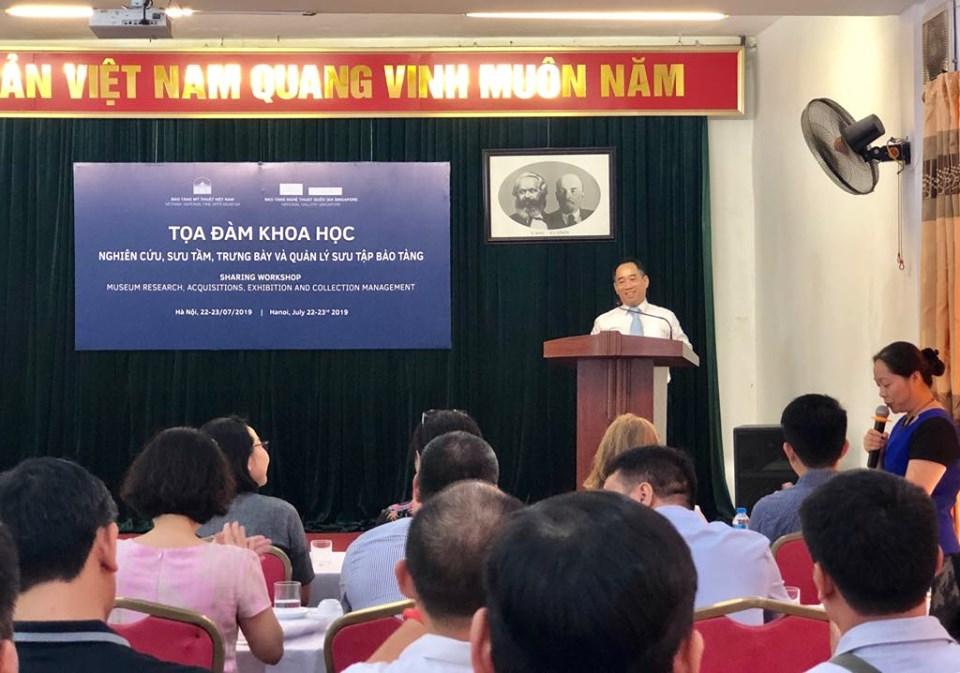 Vietnam, Singapore share experiences in museum