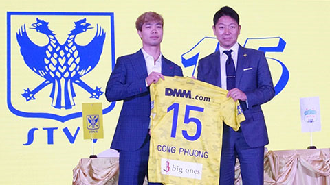 Cong Phuong given number 15 jersey at Sint-Truidense FC