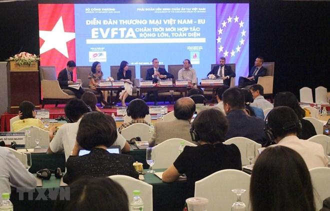 Over 300 delegates join Vietnam - EU Trade Forum