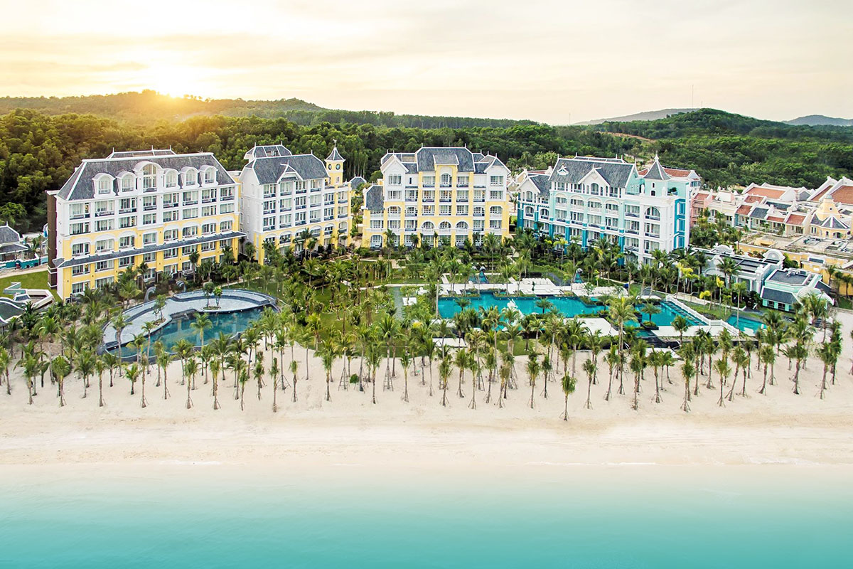 Vietnam has three resorts among World Top 100 hotels