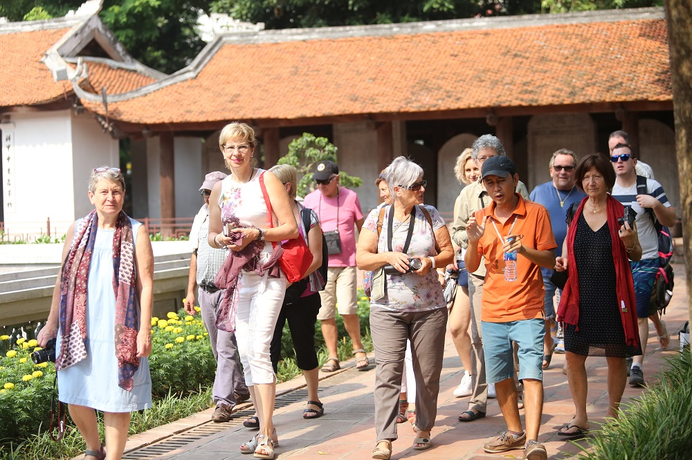 Vietnam lures more and more international visitors