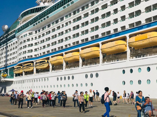 Two international cruise ships visit Vietnam in early July