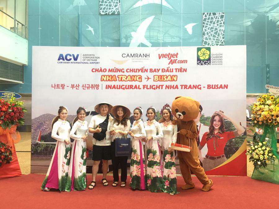 Vietjet Air launches Nha Trang - Busan route