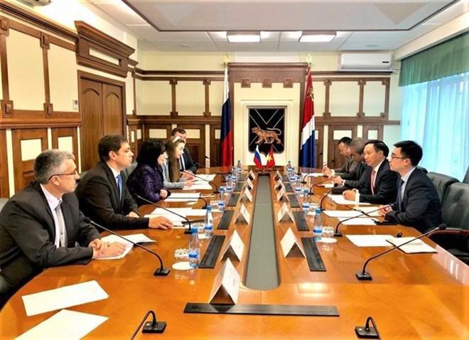 Vietnam, Russia's Primorye region step up economic cooperation