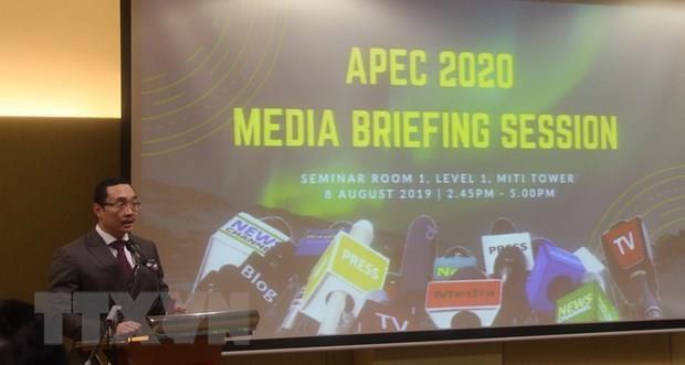 APEC Year 2020 to begin in November