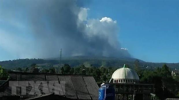Indonesia bans activities around Volcano Merapi