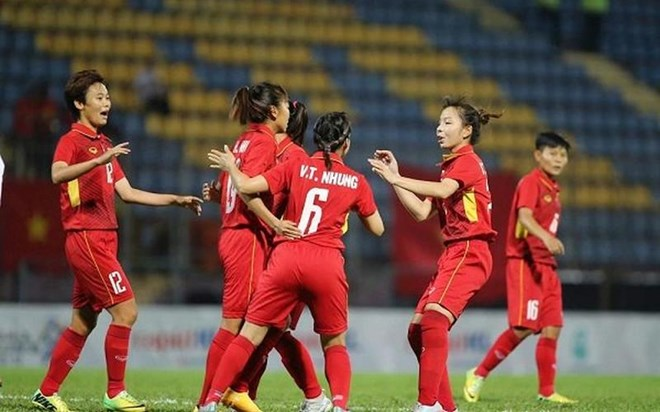 Vietnam trounce Cambodia 10-0 in AFF Women's Championship