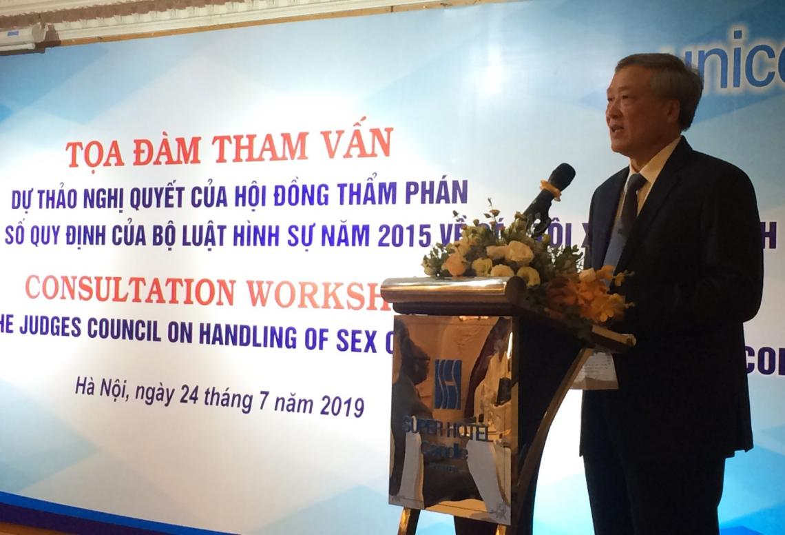 Viet Nam strengthening minors' access to justice
