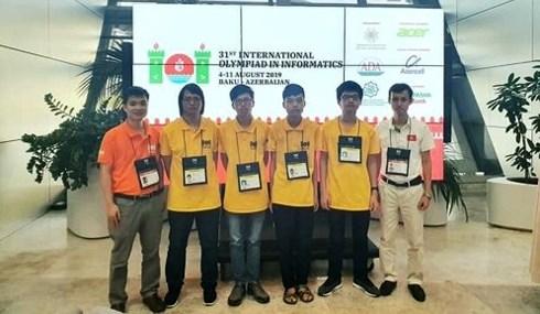 Vietnam ranks fourth at International Olympiad in Informatics 2019