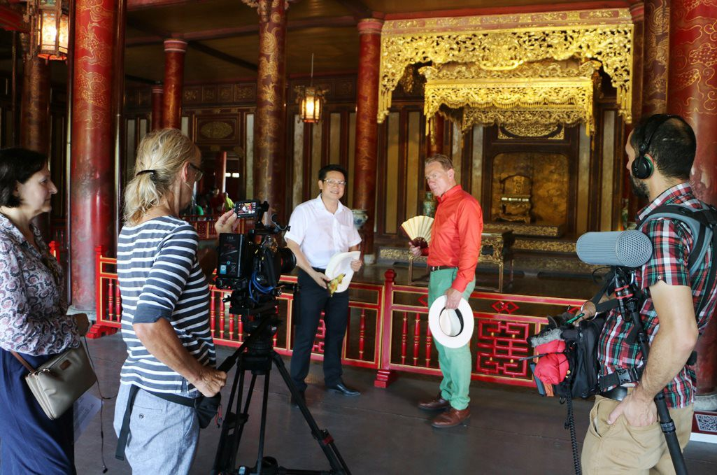 British television makes films on Hue culture and tourism