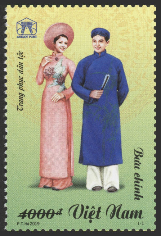 Stamp set on Vietnamese national costume released