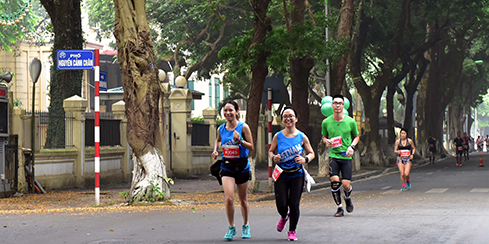 Promoting capital's image through VP Bank Hanoi Marathon 2019