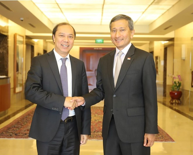 Vietnam, Singapore to further intensify strategic partnership