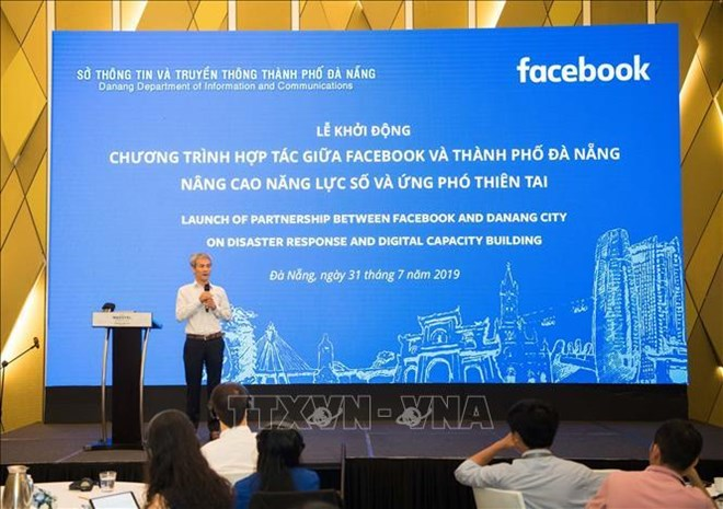 Da Nang, Facebook join hands in disaster response