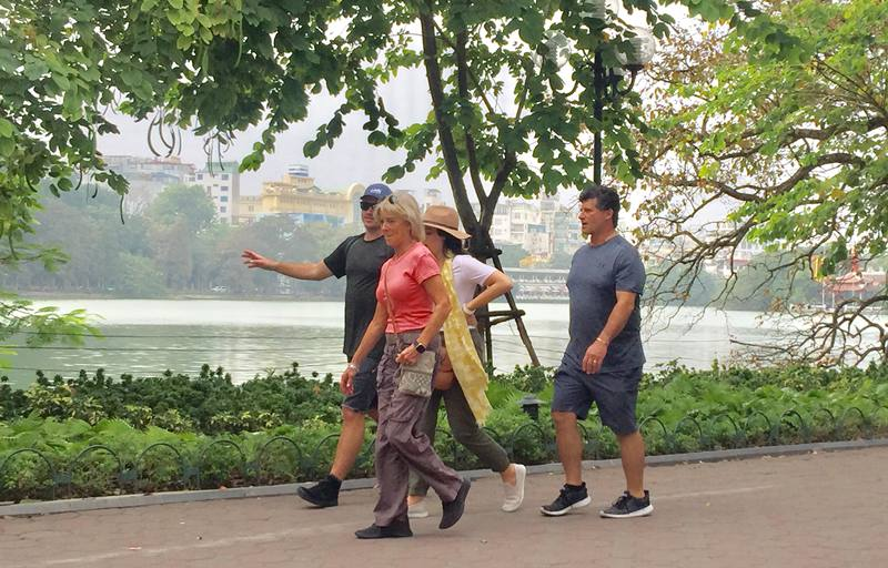 August: Tourists to Hanoi rise 10.7%