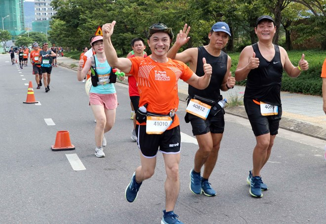 Over 9,000 runners join Da Nang International Marathon 2019