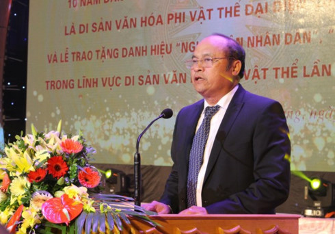 Bac Giang marks 10 years since world's recognition of folk arts