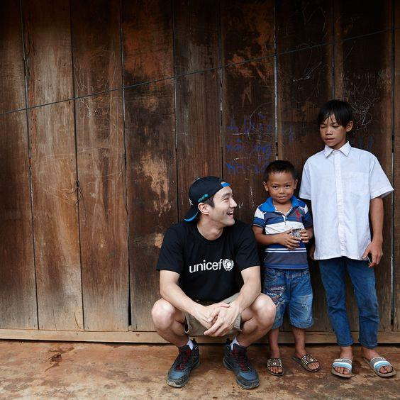 Choi Siwon and UNICEF join hands to stop bullying in Viet Nam