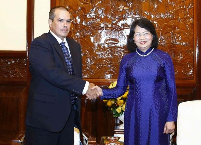 Vice President welcomes Prensa Latina news agency delegation