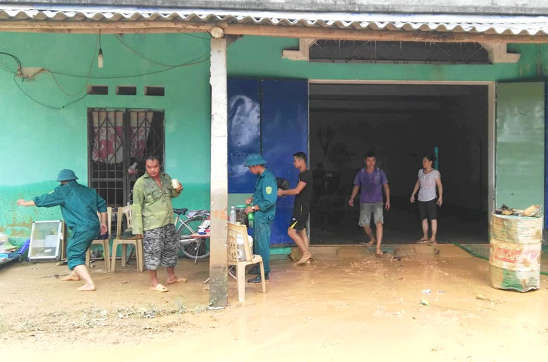 Eight people dead or missing due to flooding